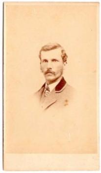 1870's James Drake Brown CDV Photo, Exeter, Rockingham County, NH
