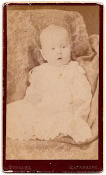 1880's Milton Edwin Williams CDV Photo, Kalamazoo, Van Buren County MI