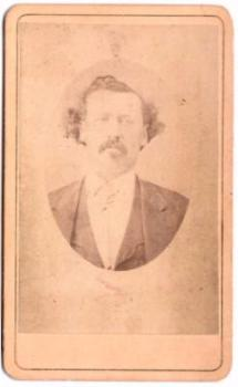 1870's John Andrews ID'd CDV Photo, Brother of Eliz Andrews Malone