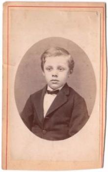 1870's Frederick Wolff CDV Photo, Baltimore County, Maryland