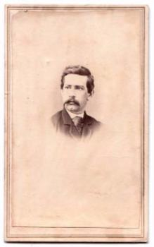 1860's John Benton Morrow CDV Photo, 13th PA Civil War, Newville PA