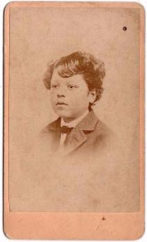 1870's Noah Ridgeway Zelley CDV Photo, Burlington County, New Jersey