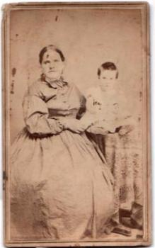 1860's Peter Beavan CDV Photo, Found in Vermont, Genealogy