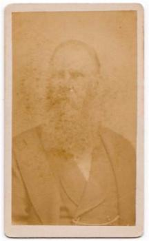 1870's George Havens Photo, Son of Jonathan & Catherine Gallup Havens