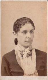 1870's Carrie Deming CDV Photo, Hartford, CT, wife of Nelson Snow