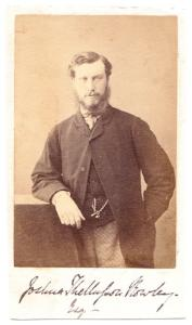 1860's Joshua Thellusson Rowley CDV Photo, 5th Baron, Suffolk, England