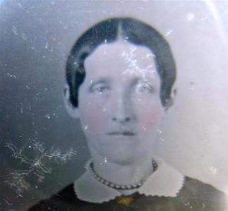 1840's Mahala Richmond, Mrs. Henry Southworth Daguerreotype Photo ID'd