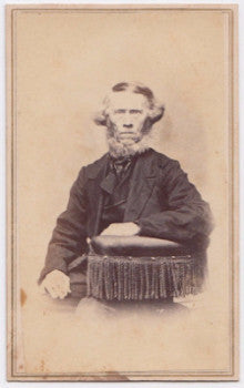 1860's Columbus Christopher Orcutt Photo, Warren, Worcester County MA