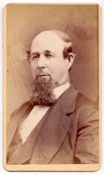 Talcott Genealogy: 1870's William Talcott ID'd CDV Photo, Hartford CT