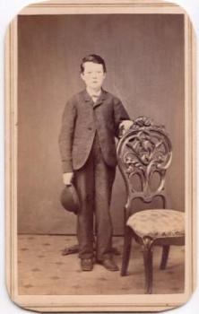 1860's Henry Franklin Buick Bueck CDV Photo, Lykens, Dauphin County PA
