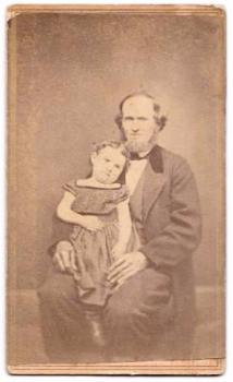 1860's Ezra Arthur Wood Civil War CDV Photo, found in Kennett Missouri