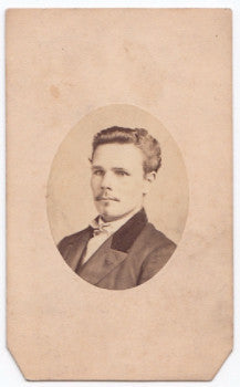 1864 Rev. Samuel R. Deach CDV Photo, 133rd PA Co. I, 1st Lieutenant