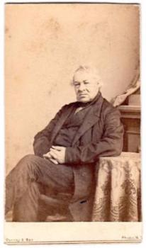 1860's Rev. Dr. Maxon Civil War era CDV Photo by Jeremiah Gurney NYC