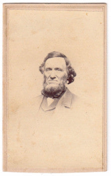 1860's Jennison Jenison Family Civil War era CDV Photo, Hartford CT
