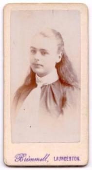 1880's Esther Penhale CDV Photo, Launceston, Cornwall, England UK