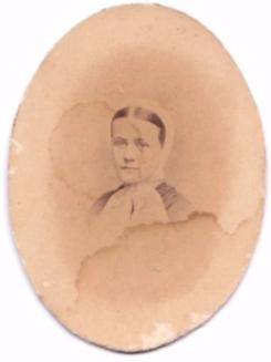 1860's Georgia Page King Smith Wilder Original ID'd Photo, Savannah GA