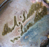 1820's M.A. Lunn Family inscribed Tankard, Lincolnshire, England