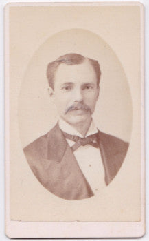 1870's Mr. Barfus CDV Photo, Louisville, Kentucky: Taulbee, Banks