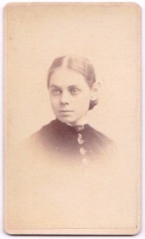 1870's Jessie Churchill Eggleston CDV Photo, Gloversville, Fulton, NY