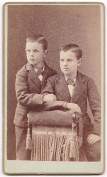 1875 Guysbert Bogart Vroom & John Nicholl Vroom CDV Photo NJ, CO, MO