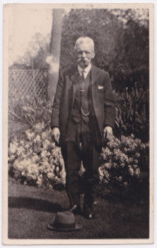1920 George Beesley Day RPPC Photo, Kimbolton, England (Hugh R. Blott)