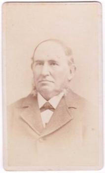 1881 Edward Bunker ID'd CDV Photo, Plymouth, Massachusetts