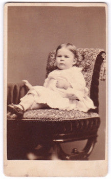 1870's Eulalia Close Kepner CDV Photo, daughter of Amos Koch Kepner