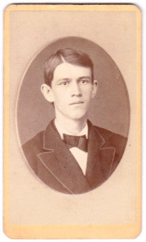 1870's Fred D. Bartlett CDV Photo, Derry NH (son Greenleaf Bartlett)