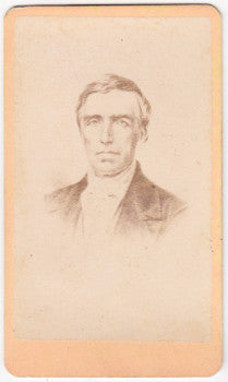 1870's Rev. Lyman Matthews CDV Photo, Braintree & Middlebury College