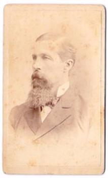 1880 Dr Luther Lafayette Bond CDV Photo, 13th Wisconsin Co K Civil War