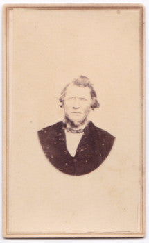 1860's Alden Booth CDV Photo, Tompkins County NY to Bureau County ILL