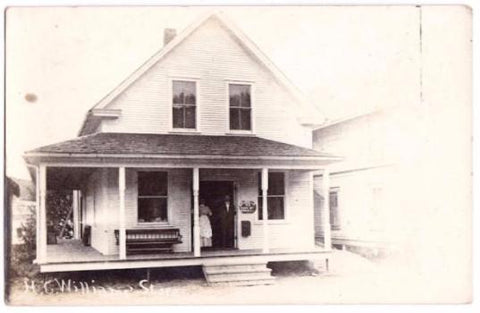 1912 Hattie & Harold Williams Store, Winhall, Bondville, Bennington VT