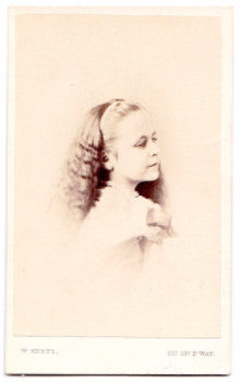 1868 Eliza Maxwell Aspinwall Photo, Franklin D Roosevelt Genealogy NYC