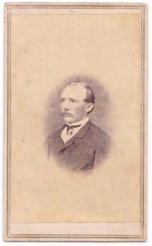1860's Magnus Koechling CDV Photo, Washington DC & Maryland, Civil War