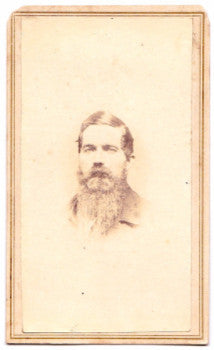 1865 Hazard Gardiner Knowles ID'd Civil War era CDV Photo Rhode Island