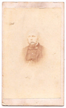 1860's W.R. Morgan, Artist CDV Photo, LLanidloes Montgomeryshire Wales