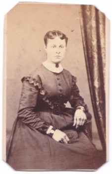 1870's Sabina Linderman Petery CDV Photo, Reading, Berks County, Penn
