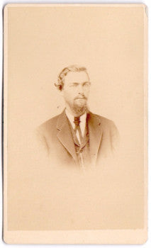 1870's Albert J. Davenport CDV Photo, Colrain, Franklin County, Mass