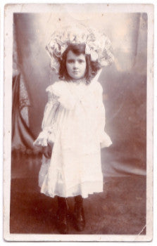 1905 Eunice Victoria Tippett Bartlett RPPC Photo, Cornwall, England UK