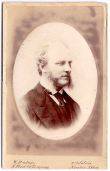 1880's Herbert Maud CDV Photo, Devon, England by Walter Downes Bradnee