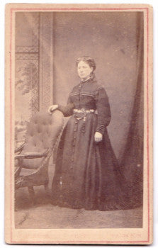 1870's Emily Warren Victorian CDV Photo, Paignton Devon County England