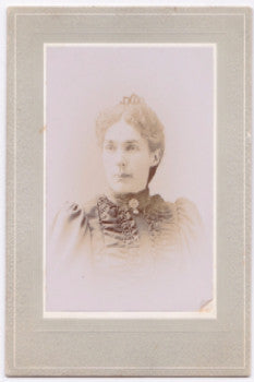 1890's Fannie M. Hatch Photo, Danbury, Fairfield County, Connecticut