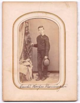 1860's Curtis Hoopes Warrington CDV Photo, West Chester PA, Quakers