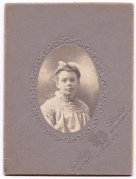 1900 Edna Bantle McMurray Photo, Buffalo NY to Welland, Ontario Canada