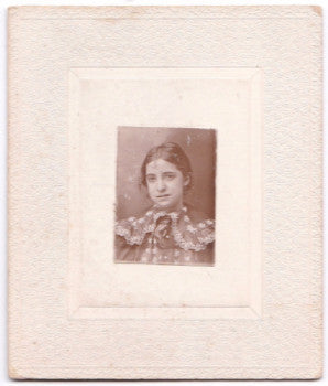 "1900 ""Eva Ward Braun's Mother"" Photo, born 1885, Found New England"