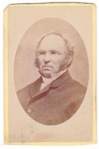1870's Rev. Edward Yocum CDV Photo, 2nd NY Civil War, Westchester NY