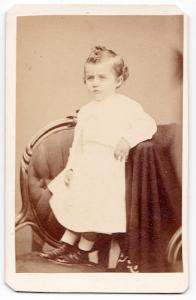 1860's Benjamin Buckley CDV Photo, Bridgeport, Fairfield County, CT
