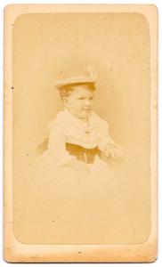 1870's Frederick Townsend CDV Photo, son of photographer C.H. Townsend