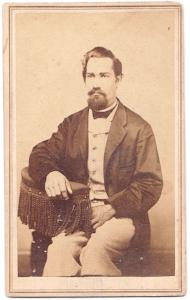 1860's Luciius Lanfair CDV Photo, Shelburne Falls, Franklin County MA
