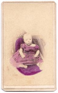 1863 George Howland Almy CDV Photo, Dartmouth, Bristol County, Mass